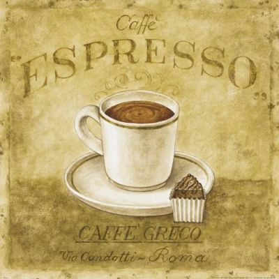 Caffe Expresso poster print by Herve Libaud
