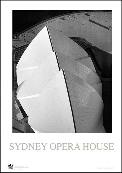 Sydney Opera House 5 poster print by Jack Atley