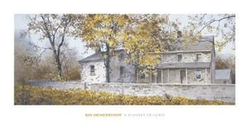 Blanket Of Gold poster print by Ray Hendershot