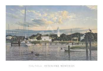 Ocracoke Memories poster print by  Philbeck