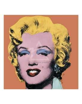 Shot Orange Marilyn, 1964 poster print by Andy Warhol