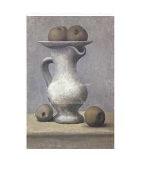 Still Life With Pitcher And Apple poster print by Pablo Picasso