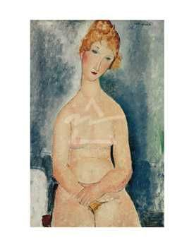 Seated Nude, Ca 1918 poster print by Amedeo Modigliani