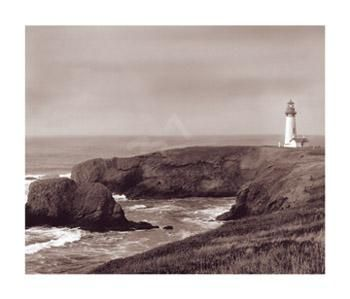 Yaquina Light poster print by  Roth