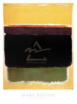 1949 poster print by Mark Rothko