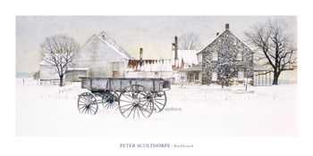 Buckboard poster print by Michael Sculthorpe