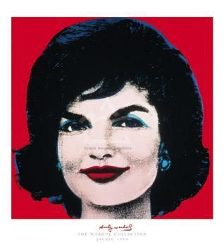Jackie, 1964 poster print by Andy Warhol