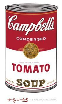 Campbell's Soup I (Tomato), 1968 poster print by Andy Warhol
