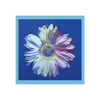Daisy, C1982 (Blue On Blue) poster print by Andy Warhol