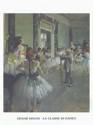Dance Class poster print by EdgarDegas