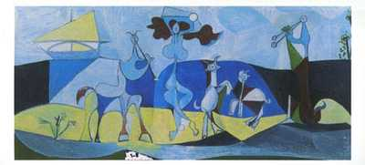 Joy of Life poster print by Pablo Picasso