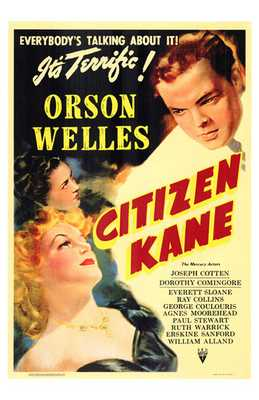 Citizen Kane poster print by Entertainment Poster