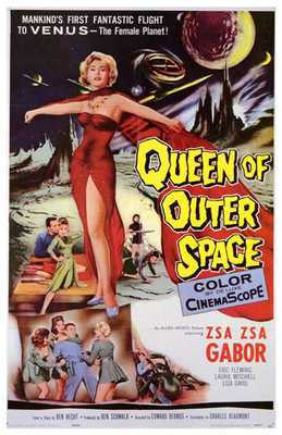 Queen of Outer Space poster print by  Entertainment Poster