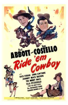 Ride 'Em Cowboy poster print by  Entertainment Poster
