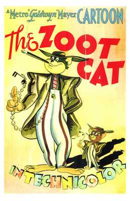 Zoot Cat, the poster print by  Entertainment Poster