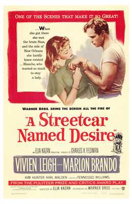 Streetcar Named Desire, a poster print by  Entertainment Poster