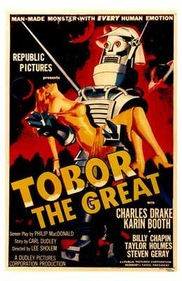 Tobor the Great poster print by  Entertainment Poster