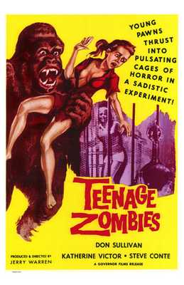 Teenage Zombies poster print by  Entertainment Poster
