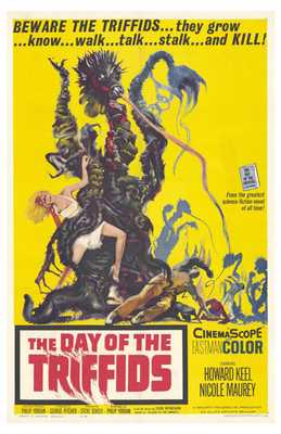 Day of the Triffids, the poster print by  Entertainment Poster