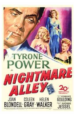 Nightmare Alley poster print by  Entertainment Poster