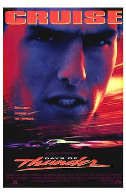 Days of Thunder poster print by  Entertainment Poster