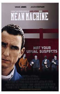 Mean Machine poster print by  Entertainment Poster