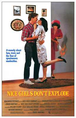 Nice Girls Don't Explode poster print by  Entertainment Poster