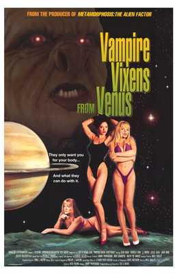 Vampire Vixens from Venus poster print by  Entertainment Poster