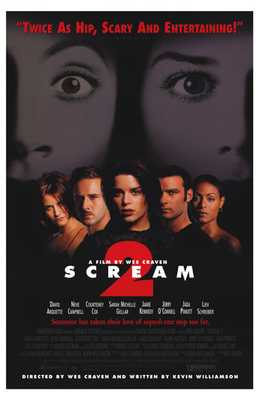 Scream 2 poster print by  Entertainment Poster