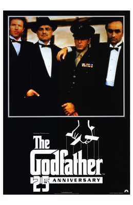 Godfather, the poster print by  Entertainment Poster