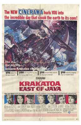 Krakatoa East of Java poster print by  Entertainment Poster