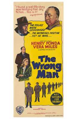 Wrong Man, the poster print by  Entertainment Poster