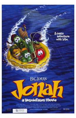 Jonah: a Veggietales Movie poster print by  Entertainment Poster