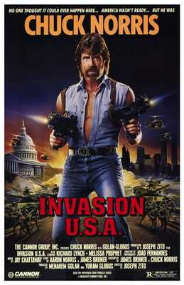Invasion Usa poster print by  Entertainment Poster