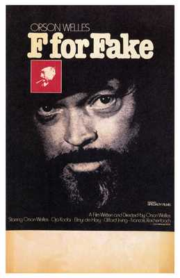 F for Fake poster print by Entertainment Poster