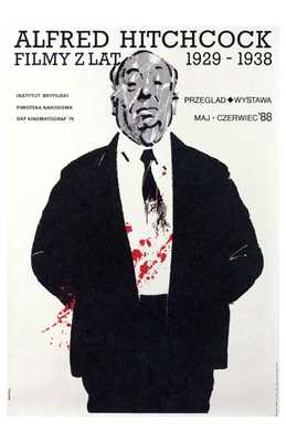 Alfred Hitchcock Film Festival poster print by  Entertainment Poster