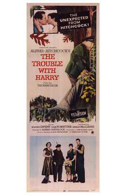 Trouble with Harry, the poster print by  Entertainment Poster