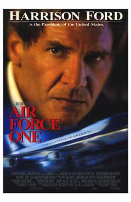 Air Force One poster print by  Entertainment Poster