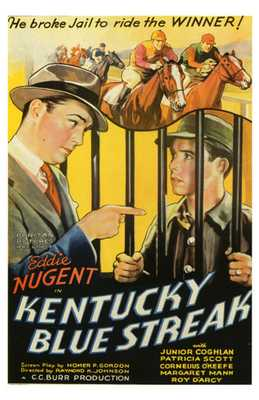 Kentucky Blue Streak poster print by  Entertainment Poster