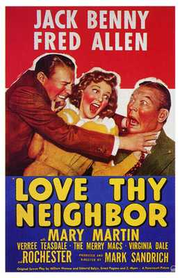 Love Thy Neighbor poster print by  Entertainment Poster
