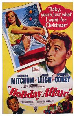 Holiday Affair poster print by  Entertainment Poster