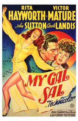 My Gal Sal poster print by  Entertainment Poster