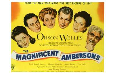 Magnificent Ambersons, the poster print by  Entertainment Poster