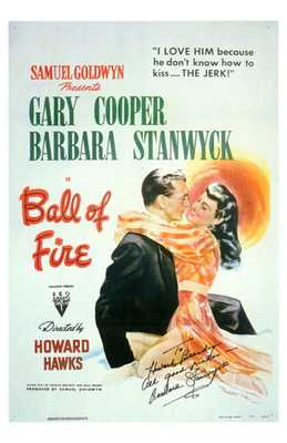 Ball of Fire poster print by  Entertainment Poster