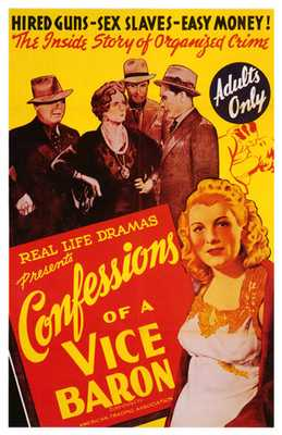 Confessions of a Vice Baron poster print by  Entertainment Poster