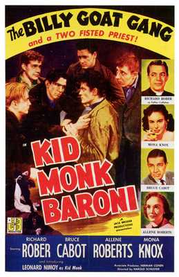 Kid Monk Baroni poster print by  Entertainment Poster