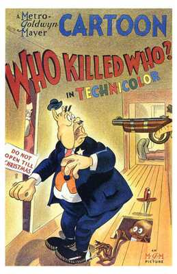 Who Killed Who poster print by  Entertainment Poster