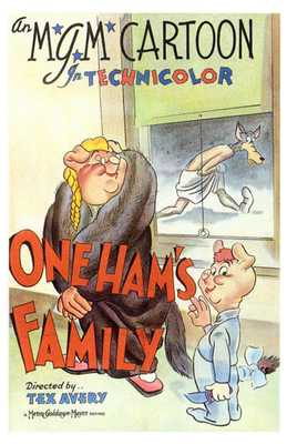One Ham's Family poster print by  Entertainment Poster