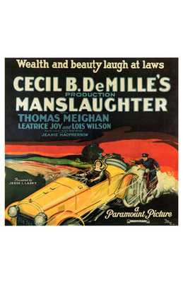 Manslaughter poster print by  Entertainment Poster
