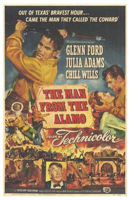 Man from the Alamo, the poster print by  Entertainment Poster